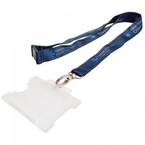 work id card holder lanyard