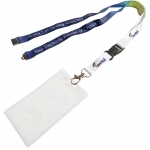Personalised Detachable Lanyard With Card Holder