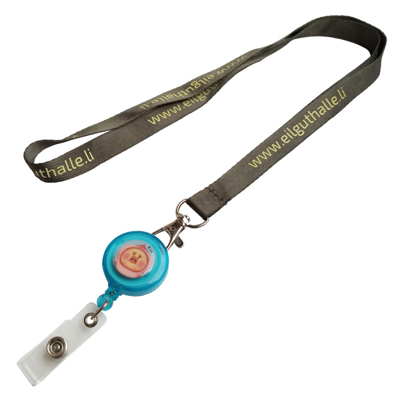 create your own lanyard