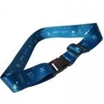 personalised luggage straps