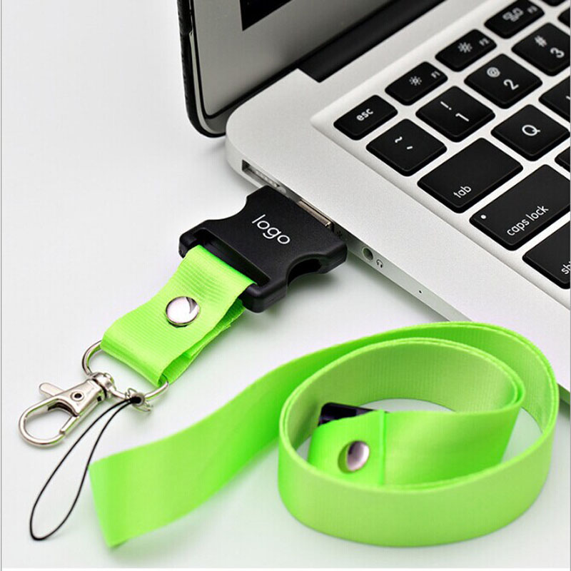 USB Flash Drive Lanyard Keychain
