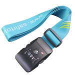 personalised luggage strap with tsa lock