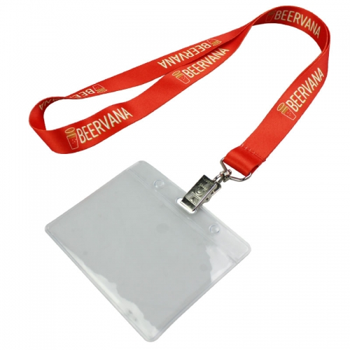 Customize Your Own ID Holder And Lanyard No Minimum