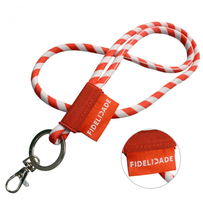 Make Custom Office Cord Lanyards With ID Badge Holder