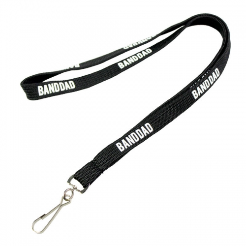 Tubular Swivel Hook Neck Lanyard Strap For Badges
