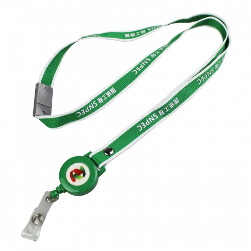 Fashion And Durable Badge Reel Lanyard Factory