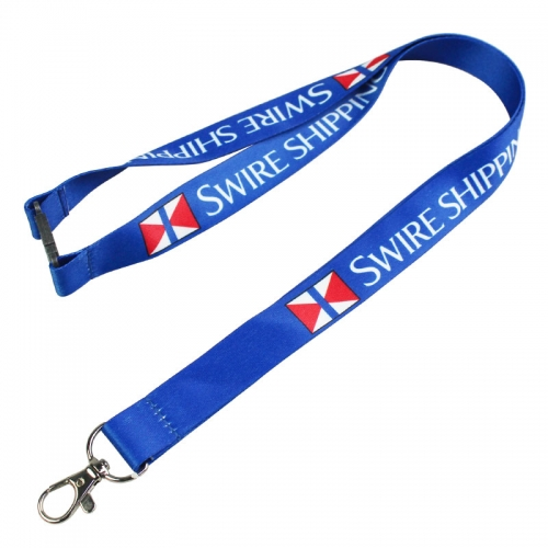 Coloured Promo Breakaway Badge Lanyards Personalised