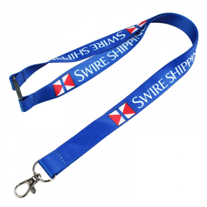 Coloured Promo Breakaway Badge Lanyards Personalised