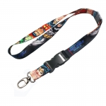 Photo Sublimation Flat Lanyard With Lobster Claw