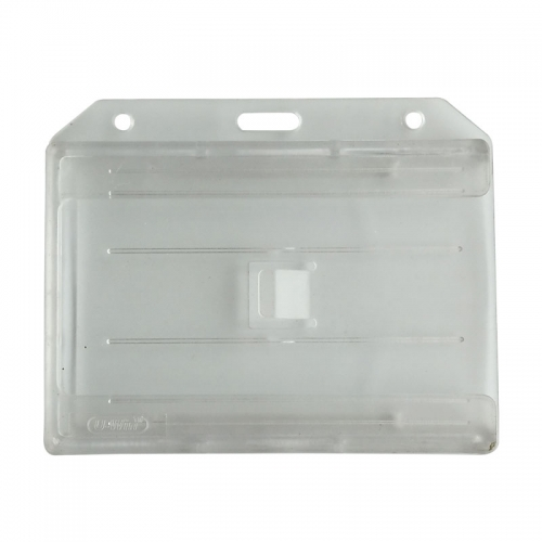 Clear Hard Plastic Id Card Holders
