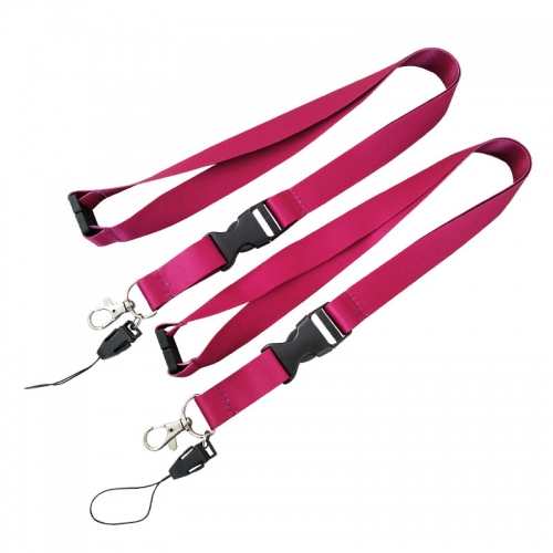 Sublimation Blank Neck Lanyards For Id Cards