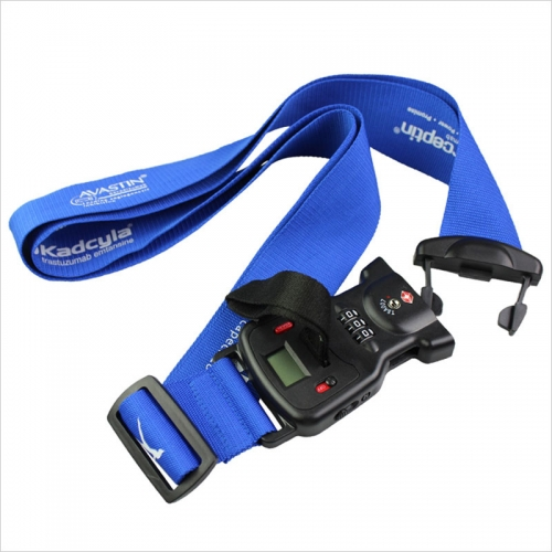 Travel Blue Luggage Strap And Scale