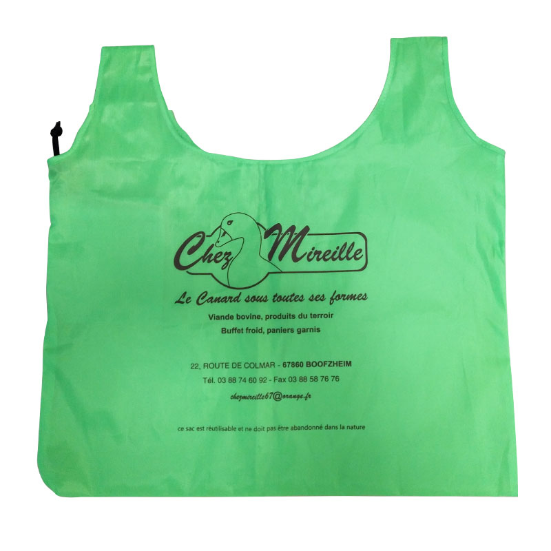Personalized Printed Fabric Shopping Bags