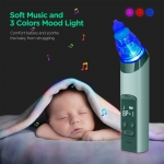 2 In 1 Electric Baby Nasal Aspirator And Blackhead Remover USB Rechargeable